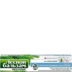 Зубная паста Натуральное отбеливание и уход за деснами ЛЕСНОЙ БАЛЬЗАМ