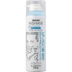 Увлажняющая пена для бритья с гиалуроновой кислотой HiShave FEATHER