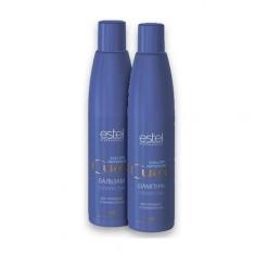 Estel, Набор для волос серебристый для холодных оттенков блонд CUREX COLOR INTENSE