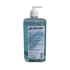 Дезисофт, дезинфицирующее мыло с дозатором, 1000 мл