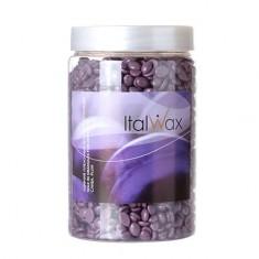 Italwax, Воск горячий (пленочный) Слива, гранулы, 500 г White Line