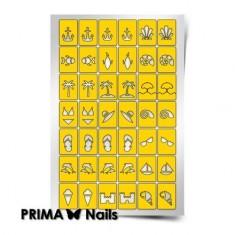 Prima Nails, Трафареты «Пляж»