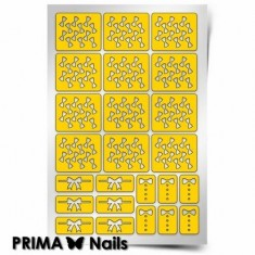 Prima Nails, Трафареты «Бантики»