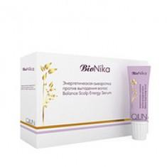 Ollin BioNika Balance Scalp Energy Serum - Энергетическая сыворотка от выпадения волос 10*15 мл Ollin Professional (Россия)