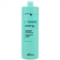 Kaaral Purify Energy Shampoo - Интенсивный энергетический шампунь с ментолом, 1000 мл Kaaral (Италия)