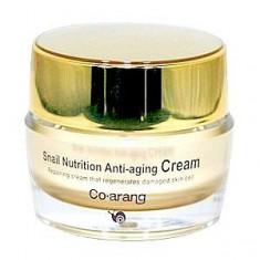 крем для глаз с экстрактом слизи улитки co arang snail nutrition anti-aging eye cream
