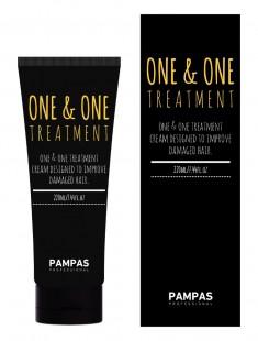 тритмент для глубокого восстановления волос pampas one & one treatment