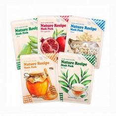 маска тканевая secret key nature recipe mask pack