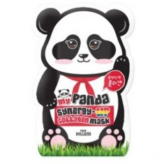 маска для лица с синергетическим действием baviphat my panda synergy up mask pack
