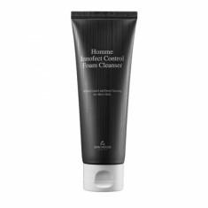 глубокоочищающая пенка для мужской кожи the skin house homme innofect control foam cleanser