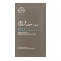 полоски для носа очищающие the face shop jeju volcanic lava pore clear nose strip