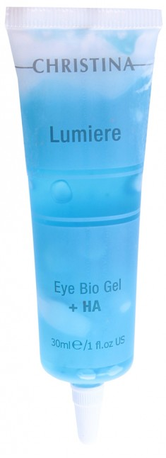 CHRISTINA Гель для кожи век и шеи, с комплексом дерма-витаминов и гиалуроновой кислотой / Eye&Neck Bio Gel 30 мл
