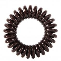 DEWAL BEAUTY Резинки для волос Пружинка, цвет коричневый 3 шт