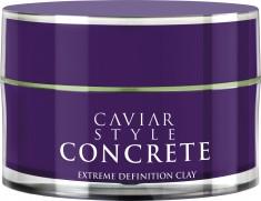 ALTERNA Глина дефинирующая для экстра-сильной фиксации / Style Concrete Extreme Definition Clay CAVIAR 52 мл