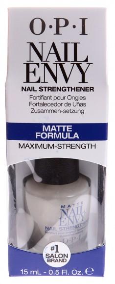 OPI Средство матовая формула / Nail Envy Matte 15 мл