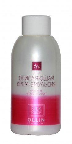 OLLIN PROFESSIONAL Крем-эмульсия окисляющая 6% (20vol) / Oxidizing Emulsion cream SILK TOUCH 90 мл