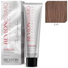 REVLON Professional 5.12 краска для волос, светло-коричневый пепельно-переливающийся / RP REVLONISSIMO COLORSMETIQUE 60 мл