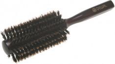 DEWAL PROFESSIONAL Брашинг деревянный, натуральная щетина, темный d 22/54 мм