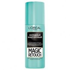Спрей для волос тонирующий LOREAL MAGIC RETOUCH тон 8 холодный каштановый 75 мл