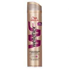 WELLA Лак для волос супер-сильной фиксации Wellaflex 250 мл