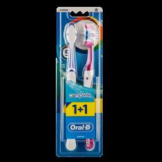 Щетка зубная ORAL-B COMPLETE Пятисторонняя чистка средней жесткости 1+1