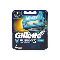 GILLETTE Кассеты сменные для станка FUSION PRO SHIELD CHILL 4 шт.