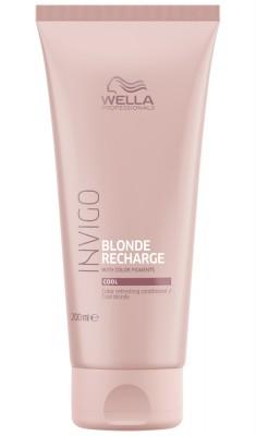 Wella Invigo Blonde Recharge Оттеночный бальзам-уход для холодных светлых оттенков 200мл