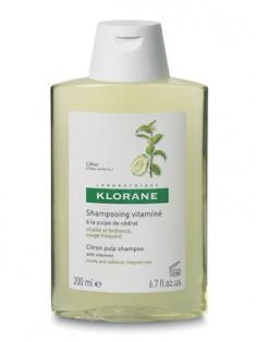 Клоран (Klorane) Шампунь тонизирующий с мякотью цитрона 200 мл