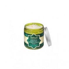 Тонизирующая морская соль с маслами бергамота, мандарина и мяты для принятия ванн, 250 мл (Зейтун)