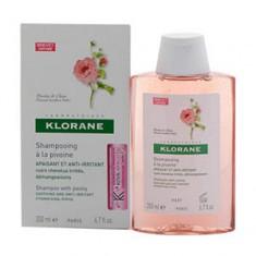 Шампунь с экстрактом пиона, успокаивающий, 200 мл (Klorane)
