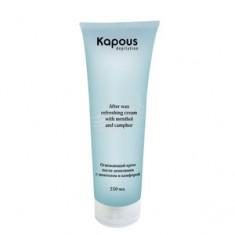 Освежающий крем после депиляции с ментолом и камфорой, 250 мл (Kapous Professional)