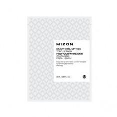 Маска осветляющая листовая для лица, 30 мл (Mizon)