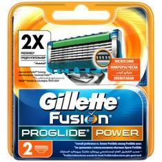 Кассеты для станка GILLETTE FUSION PROGLIDE POWER 2 шт
