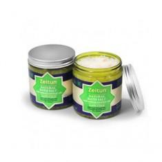Противопростудная морская соль с маслами ели, пихты, лимона для принятия ванн, 250 мл (Зейтун)