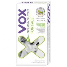Полоски гелевые для лица VOX 6 шт + 2 салфетки