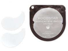 KOCOSTAR Патчи гидрогелевые для глаз Тропические фрукты, кокос / Tropical Eye Patch Coconut Single 2 патча
