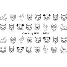 BPW.Style, Слайдер-дизайн «Животные» №1-559