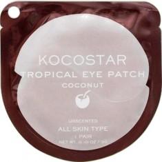 Гидрогелевые патчи для глаз Тропические фрукты Tropical Eye Patch Coconut Single KOCOSTAR