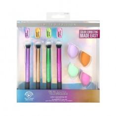 Набор цветных кистей и спонжей для макияжа Real Techniques Color Correcting Set