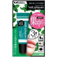 Увлажняющий блеск-бальзам для губ с натуральными растительными маслами и ментолом с ароматом мяты VeilLipSerium SUN SMILE