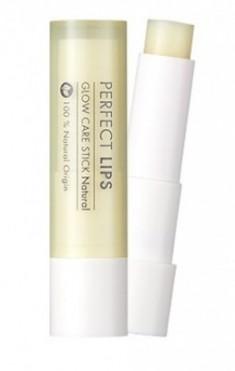 Бальзам для губ сияющий TONY MOLY Perfect lips glow care stick 01 Natural Moisture