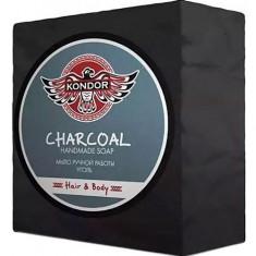 Мыло ручной работы Hair&Body Уголь Kondor