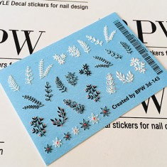 BPW.Style, Слайдер-дизайн 3D «Веточки» №3d-143