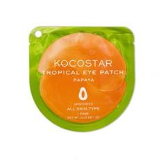 Kocostar, Гидрогелевые патчи для глаз Tropical, папайя, 1 пара