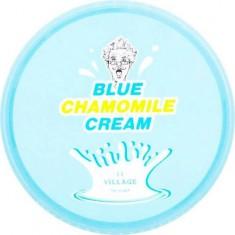 Успокаивающий гель-крем с экстрактом голубой ромашки Blue Chamomile Cream Village 11 Factory
