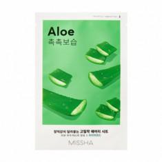 Маска тканевая увлажняющая с алоэ MISSHA Airy Fit Sheet Mask Aloe