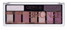 Палетка теней CATRICE The Blazing Bronze Collection Eyeshadow Palette 010 бронзовые