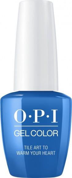 OPI Гель-лак для ногтей / Tile Art to Warm Your Heart LISBON GELCOLOR 15 мл