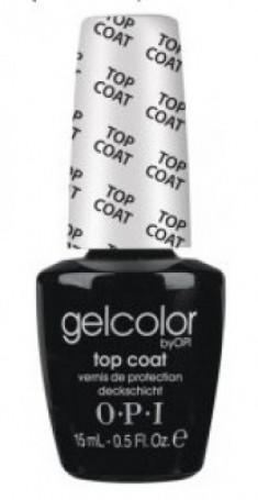 Верхнее покрытие OPI GelColor Top Coat GC030