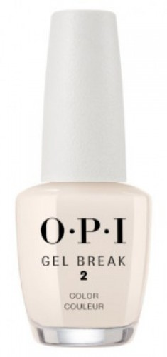 Ухаживающее покрытие с эффектом цвета OPI Gel Break Barely Beige NTR05 бежевый нюдовый